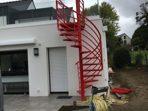 Escalier Extérieur Colimaçon (1)